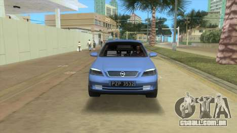Opel Astra 4door 1.6 TDi Sedan para GTA Vice City vista traseira esquerda