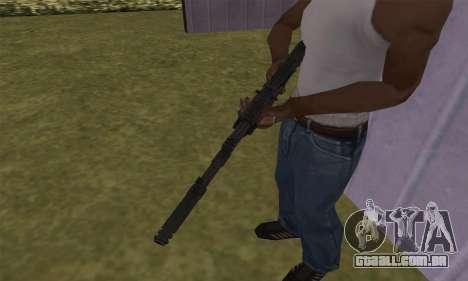 AK-12 para GTA San Andreas terceira tela