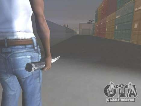 CSO Katana para GTA San Andreas segunda tela