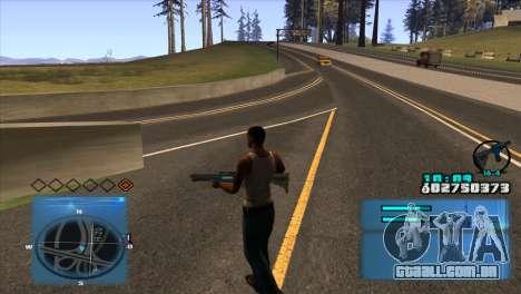 C-HUD Battlefield 3 para GTA San Andreas segunda tela