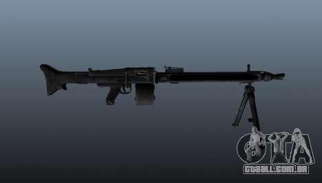 De uso geral da metralhadora MG-3 para GTA 4 terceira tela