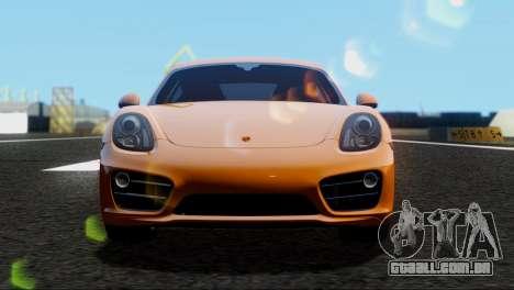 Porsche Cayman S 2014 para GTA San Andreas
