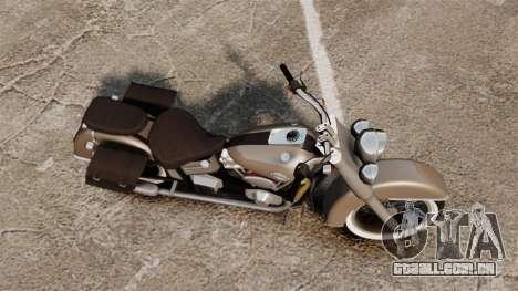Custom Bobber v2 para GTA 4 traseira esquerda vista