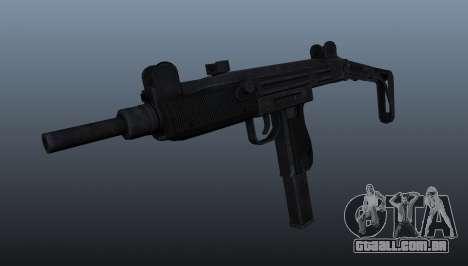 Pistola-metralhadora Uzi IMI para GTA 4