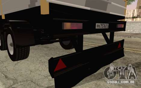 Nefaz do DB2 para GTA San Andreas traseira esquerda vista