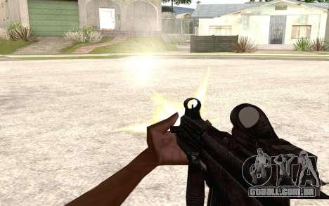 UMP 45 para GTA San Andreas por diante tela
