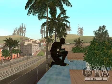 Homem-aranha para GTA San Andreas terceira tela