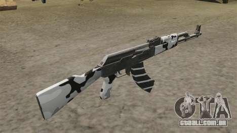 Inverno de AK-47 para GTA 4 segundo screenshot