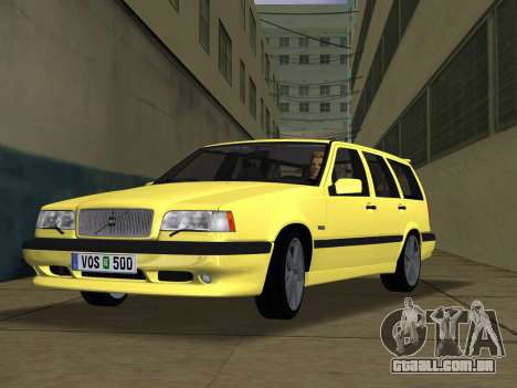 Volvo 850 R Estate para GTA Vice City