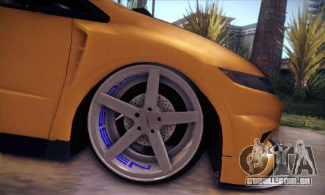 Honda Civic Type R Mugen para vista lateral GTA San Andreas
