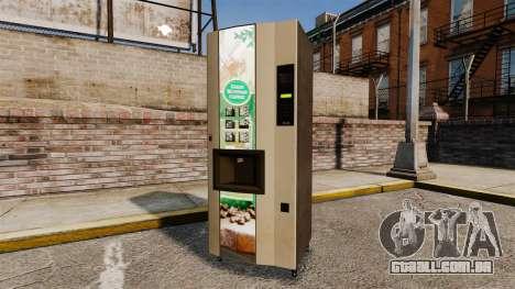 Novas máquinas de venda automática para GTA 4 terceira tela
