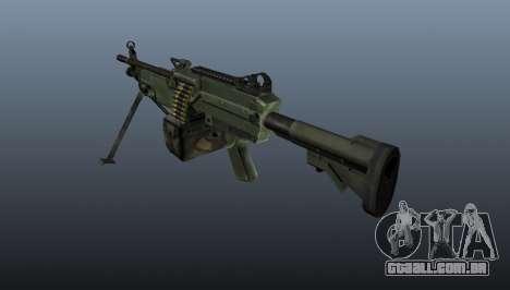 A metralhadora leve de C9 para GTA 4 segundo screenshot