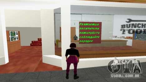 Loja de ferramentas para GTA Vice City segunda tela