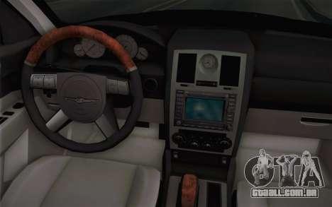 Chrysler 300C Limo 2007 para GTA San Andreas interior