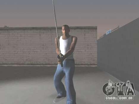 CSO Katana para GTA San Andreas por diante tela