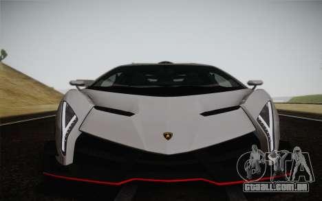 Lamborghini Veneno LP750-4 2013 para vista lateral GTA San Andreas