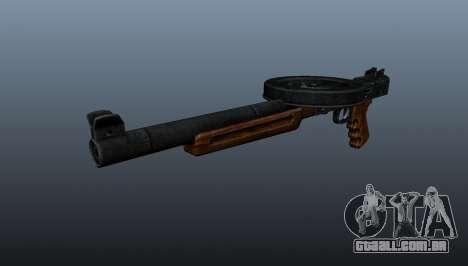 A pistola-metralhadora SMG silenciada para GTA 4