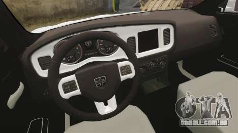 Dodge Charger 2014 para GTA 4 vista interior