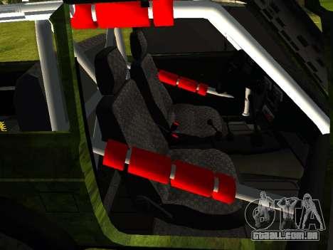 VAZ 212140 Hunter para GTA San Andreas traseira esquerda vista