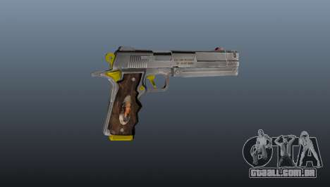 Pistola de marfim para GTA 4 terceira tela