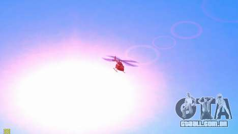 Sun effects para GTA Vice City por diante tela