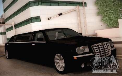 Chrysler 300C Limo 2007 para GTA San Andreas