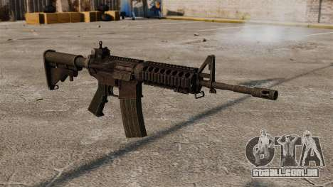 Semi-automático rifle AR-15 para GTA 4