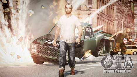Trevor Fillips from GTA V para GTA 4
