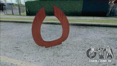 Assento de toalete da Pedro I para GTA San Andreas segunda tela
