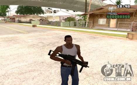 UMP 45 para GTA San Andreas quinto tela
