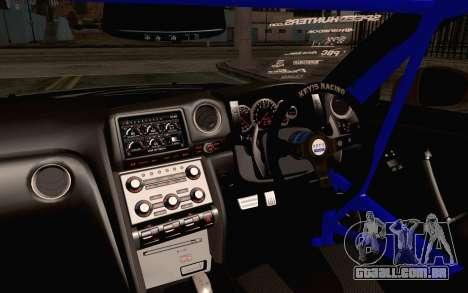 Nissan GT-R Liberty Walk para GTA San Andreas vista direita