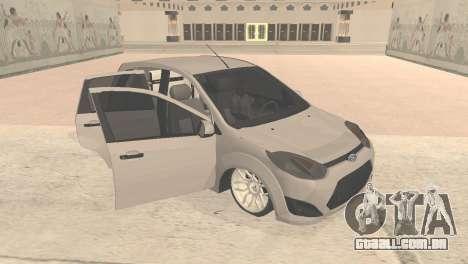 Ford Fiesta Rocam Edit para GTA San Andreas esquerda vista
