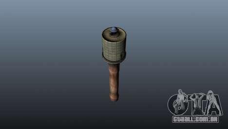 Romã com M43 para GTA 4 segundo screenshot