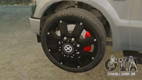 Ford F-350 Pitbull v2.0 para GTA 4 vista interior