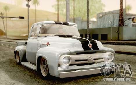 Ford F100 1956 para GTA San Andreas