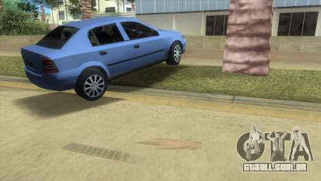 Opel Astra 4door 1.6 TDi Sedan para GTA Vice City vista direita