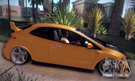 Honda Civic Type R Mugen para GTA San Andreas vista interior