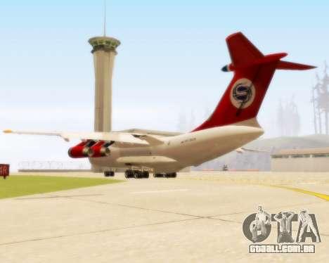 Il-76td Samara para GTA San Andreas vista direita