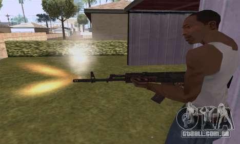 AK-12 para GTA San Andreas quinto tela