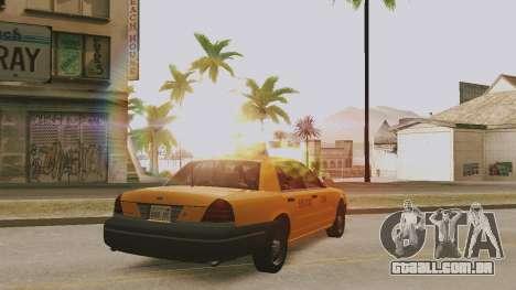ENB ensolarado para PCs de baixo ou médios para GTA San Andreas segunda tela