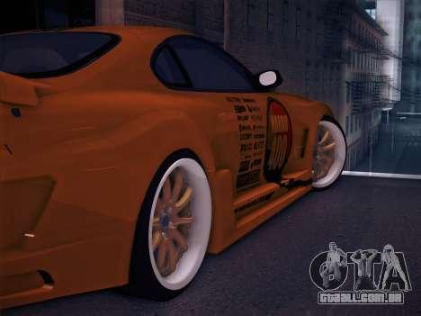 Toyota Supra Top Secret V12 para as rodas de GTA San Andreas