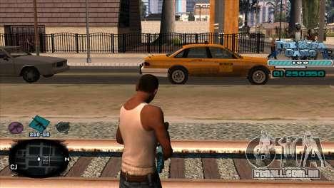 C-HUD Rifa Gang para GTA San Andreas segunda tela
