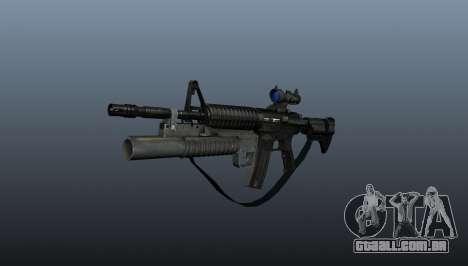 Carabina automática M4A1 v2 para GTA 4