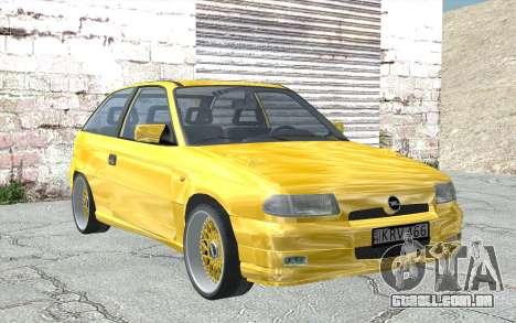 Opel Astra F GSI BBS Style para GTA San Andreas