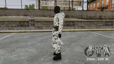Sueca terrorista Ártico para GTA 4 segundo screenshot