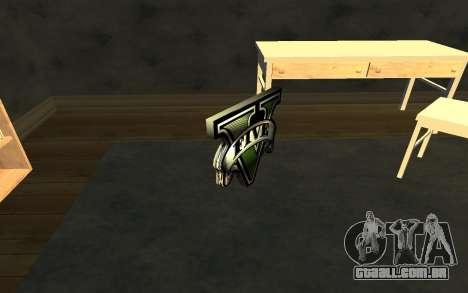 GTA V Save Icon para GTA San Andreas terceira tela