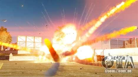 A nova configuração de incêndios e explosões para GTA 4 terceira tela