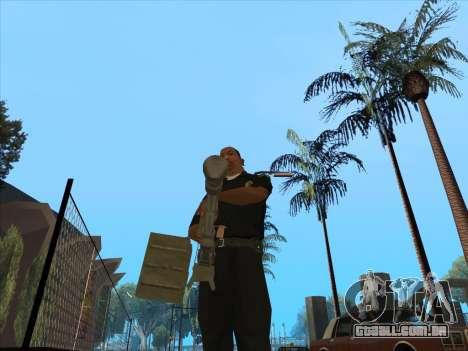 NSVT para GTA San Andreas segunda tela