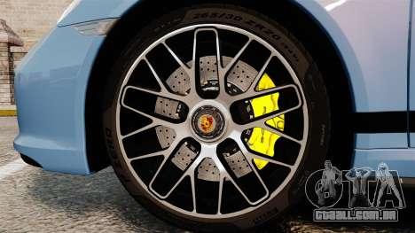 Porsche 911 Turbo 2014 [EPM] KW iSuspension para GTA 4 vista de volta