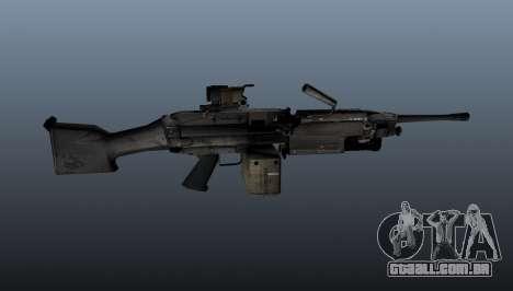 A metralhadora M249 luz para GTA 4 terceira tela